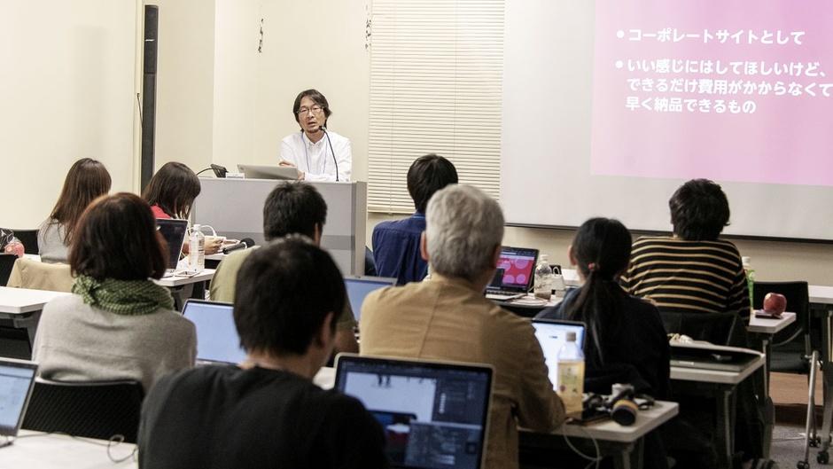 写真:小佐々さんのセッションのセミナー風景