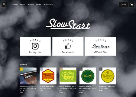 スクリーンショット:Slow Start